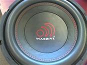MASSIVE AUDIO Car Speakers/Speaker System NEO 10 SUBWOOFER